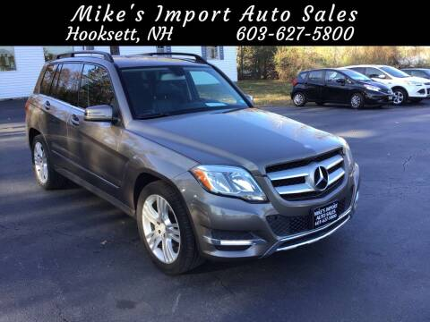 2013 Mercedes-Benz GLK for sale at Mikes Import Auto Sales INC in Hooksett NH