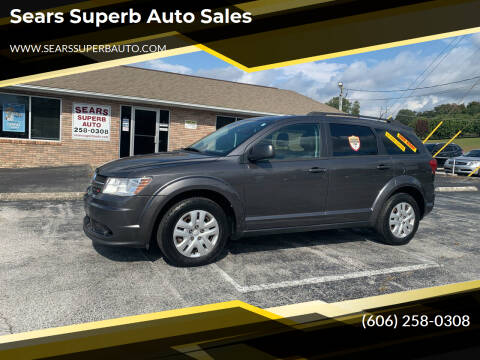 2015 Dodge Journey for sale at Sears Superb Auto Sales in Corbin KY