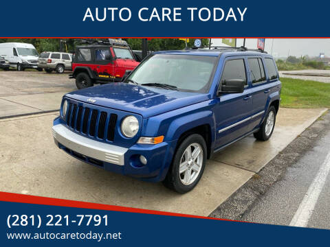 2010 Jeep Patriot for sale at AUTO CARE TODAY in Spring TX
