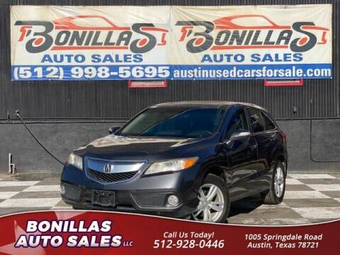 2013 Acura RDX for sale at Bonillas Auto Sales in Austin TX