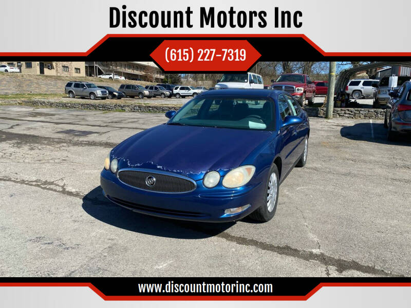 2006 Buick LaCrosse for sale at Discount Motors Inc in Nashville TN