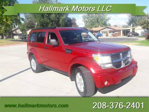 2007 Dodge Nitro for sale at HALLMARK MOTORS LLC in Boise ID