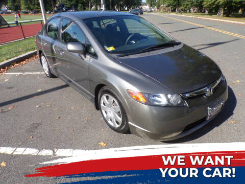 2006 Honda Civic for sale at TJS Auto Sales Inc in Roselle NJ
