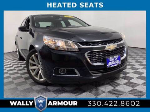 2015 Chevrolet Malibu for sale at Wally Armour Chrysler Dodge Jeep Ram in Alliance OH