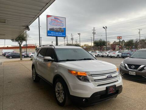 2015 Ford Explorer for sale at Magic Auto Sales in Dallas TX