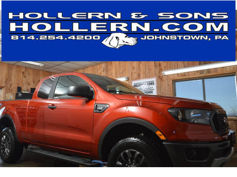 2019 Ford Ranger for sale at Hollern & Sons Auto Sales in Johnstown PA
