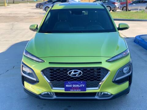 2019 Hyundai Kona for sale at Max Quality Auto in Baton Rouge LA