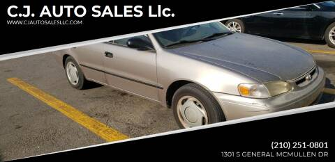 1998 Toyota Corolla for sale at C.J. AUTO SALES llc. in San Antonio TX
