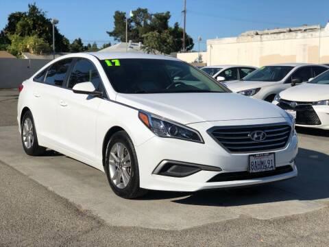 2017 Hyundai Sonata for sale at H & K Auto Sales & Leasing in San Jose CA