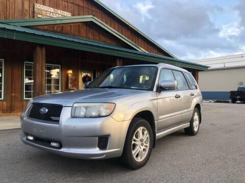 2008 Subaru Forester for sale at Coeur Auto Sales in Hayden ID
