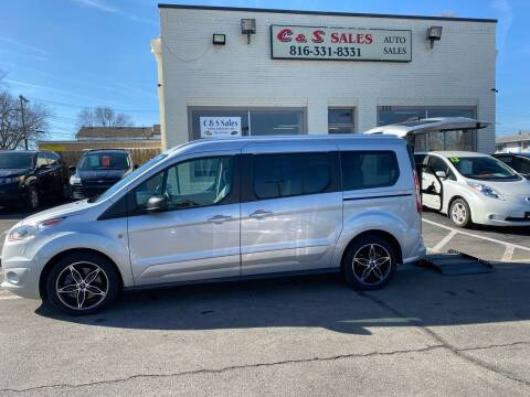 2017 Ford Transit Connect Wagon for sale at C & S SALES in Belton MO