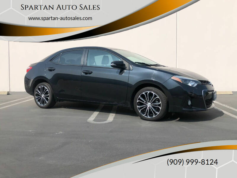 2014 Toyota Corolla for sale at Spartan Auto Sales in Upland CA