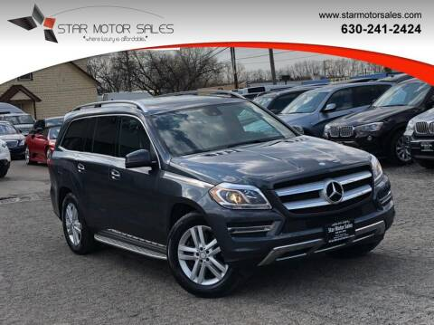 2014 Mercedes-Benz GL-Class for sale at Star Motor Sales in Downers Grove IL