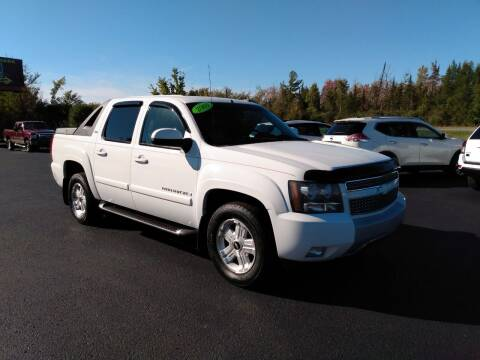 2009 Chevrolet Avalanche for sale at Northpointe Motors in Kalkaska MI