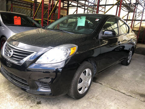 2014 Nissan Versa for sale at Deleon Mich Auto Sales in Yonkers NY