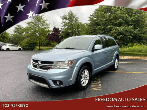 2013 Dodge Journey for sale at Freedom Auto Sales in Chantilly VA