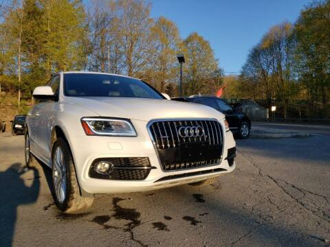 2017 Audi Q5 for sale at Apple Auto Sales Inc in Camillus NY