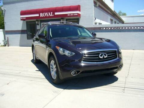 2012 Infiniti FX35 for sale at Royal Auto Inc in Murray UT
