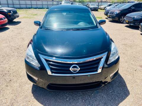 2015 Nissan Altima for sale at Good Auto Company LLC in Lubbock TX