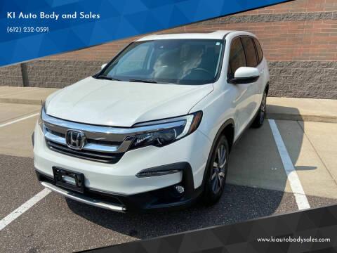 2020 Honda Pilot for sale at KI Auto Body and Sales in Lino Lakes MN