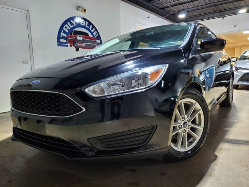 2018 Ford Focus for sale at Italy Blue Auto Sales llc in Miami FL