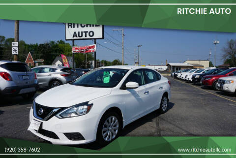 2016 Nissan Sentra for sale at Ritchie Auto in Appleton WI