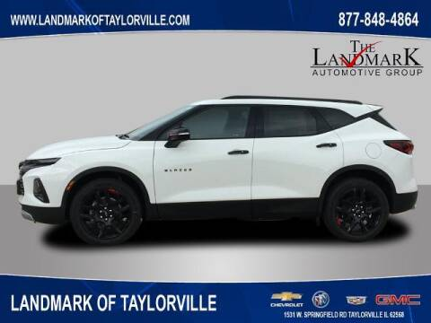 2021 Chevrolet Blazer for sale at LANDMARK OF TAYLORVILLE in Taylorville IL