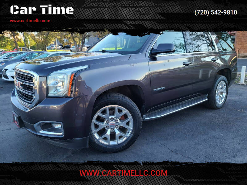 2015 GMC Yukon for sale at Car Time in Denver CO
