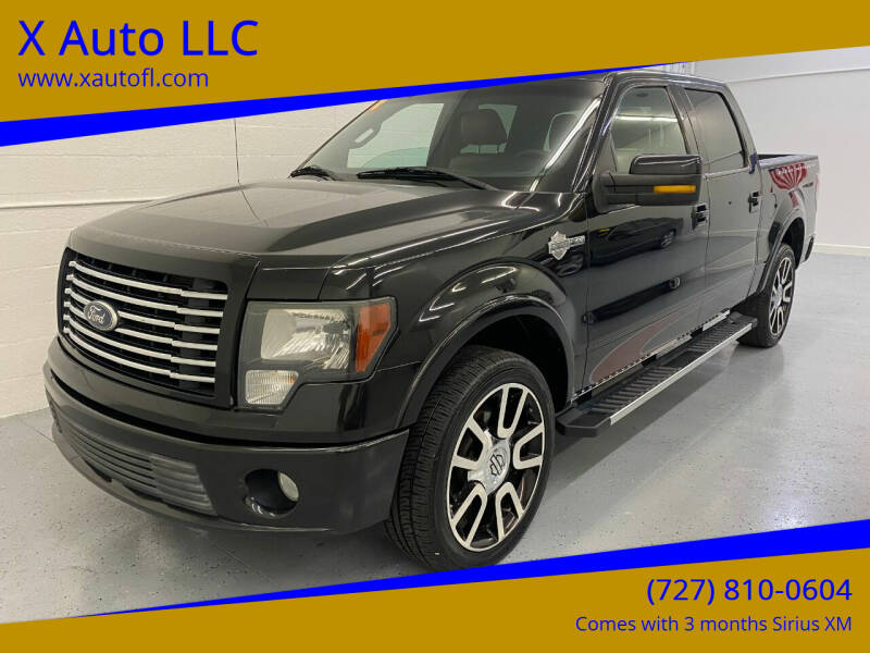 2010 Ford F-150 for sale at X Auto LLC in Pinellas Park FL
