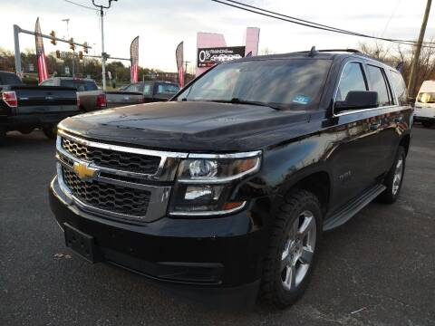 2015 Chevrolet Tahoe for sale at P J McCafferty Inc in Langhorne PA