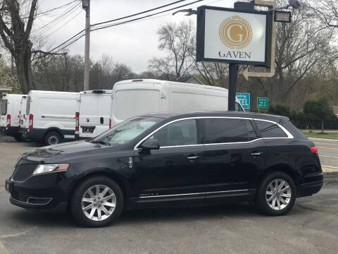 2016 Lincoln MKT Town Car for sale at Gaven Auto Group in Kenvil NJ