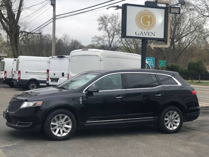 2018 Lincoln MKT Town Car for sale at Gaven Auto Group in Kenvil NJ