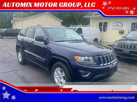 2014 Jeep Grand Cherokee for sale at AUTOMIX MOTOR GROUP, LLC in Swansea MA