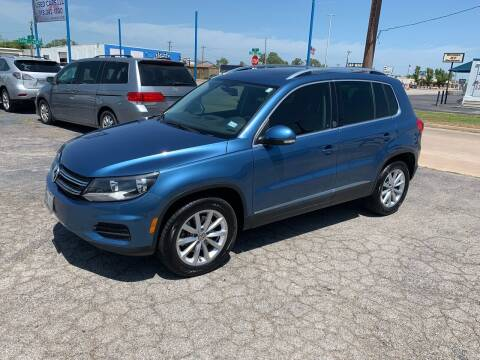 2017 Volkswagen Tiguan for sale at Superior Used Cars LLC in Claremore OK