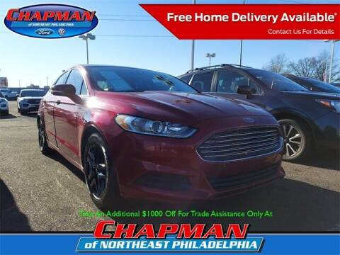 2015 Ford Fusion for sale at CHAPMAN FORD NORTHEAST PHILADELPHIA in Philadelphia PA