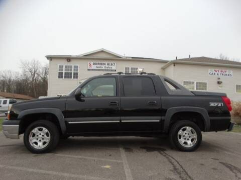2003 Chevrolet Avalanche for sale at SOUTHERN SELECT AUTO SALES in Medina OH