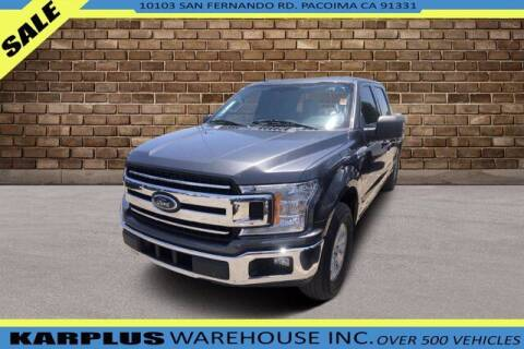 2018 Ford F-150 for sale at Karplus Warehouse in Pacoima CA