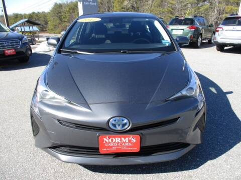 2017 Toyota Prius for sale at NORM'S USED CARS INC in Wiscasset ME