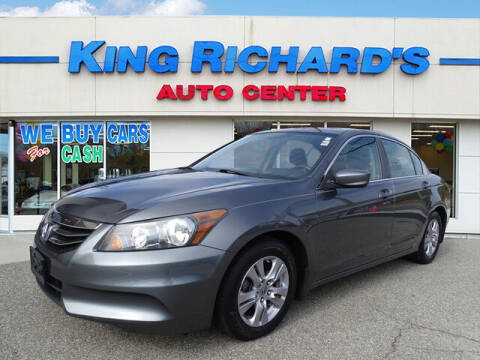 2012 Honda Accord for sale at KING RICHARDS AUTO CENTER in East Providence RI