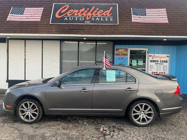 2012 Ford Fusion for sale at Certified Auto Sales, Inc in Lorain OH