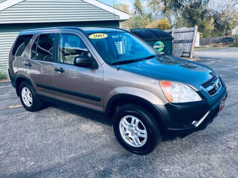 2003 Honda CR-V for sale at SHEFFIELD MOTORS INC in Kenosha WI