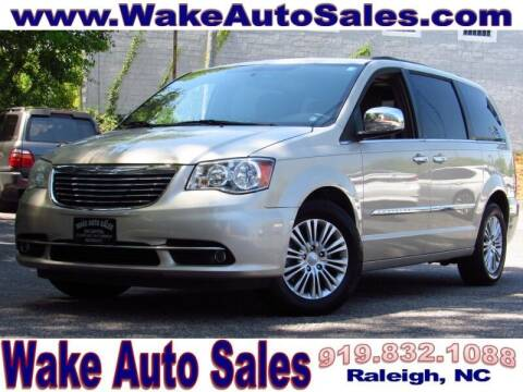 2014 Chrysler Town and Country for sale at Wake Auto Sales Inc in Raleigh NC