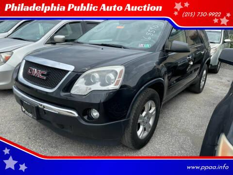 2012 GMC Acadia for sale at Philadelphia Public Auto Auction in Philadelphia PA