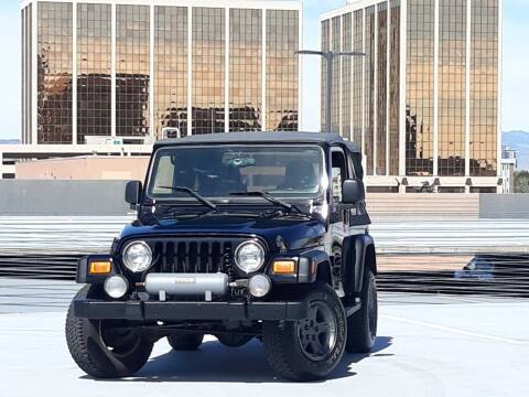 2005 Jeep Wrangler for sale at Pammi Motors in Glendale CO