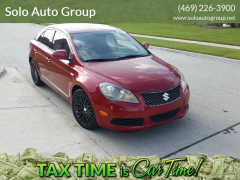 2012 Suzuki Kizashi for sale at Solo Auto Group in Mckinney TX