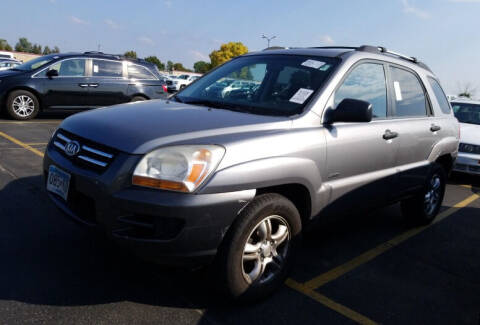 2005 Kia Sportage for sale at Green Light Auto in Sioux Falls SD