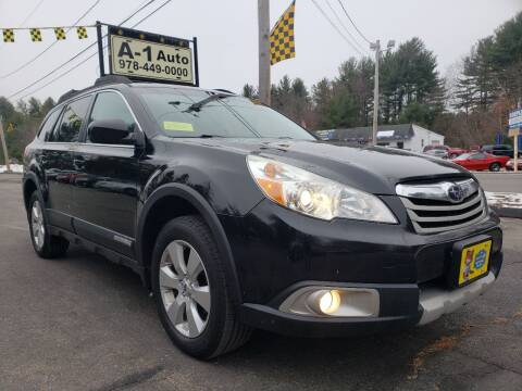 2012 Subaru Outback for sale at A-1 Auto in Pepperell MA