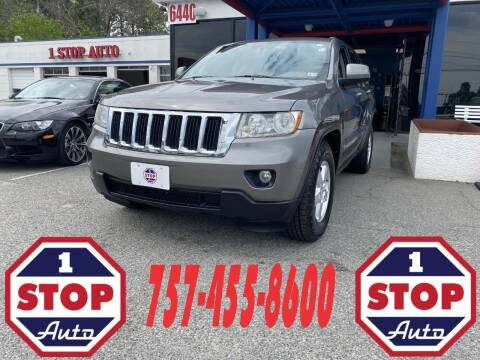 2012 Jeep Grand Cherokee for sale at 1 Stop Auto in Norfolk VA