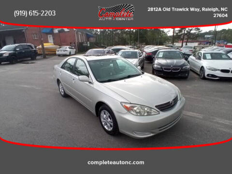 2004 Toyota Camry for sale at Complete Auto Center , Inc in Raleigh NC
