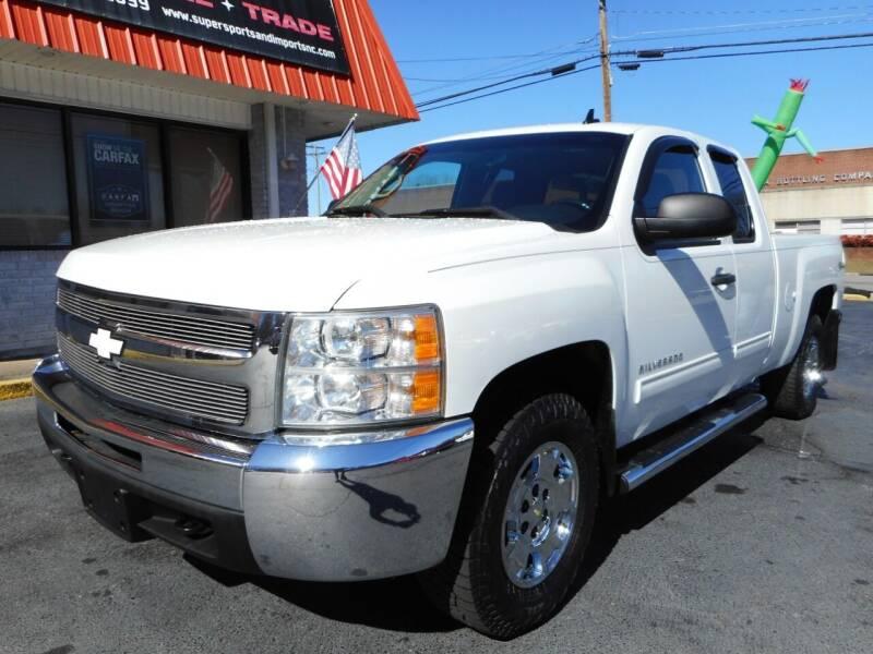 2012 Chevrolet Silverado 1500 for sale at Super Sports & Imports in Jonesville NC